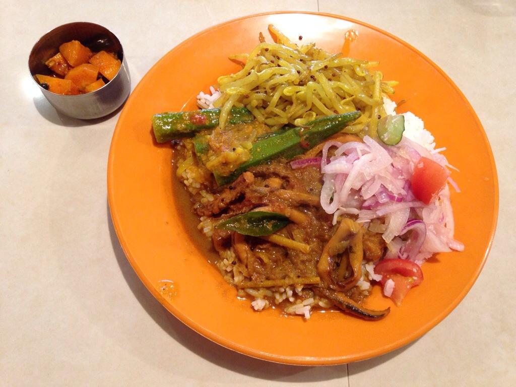 亜州食堂 チョウクのナシカンダール