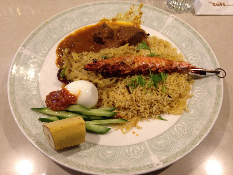 亜州食堂 チョウクのナシブリヤーニSPL(マレーシア式ビリヤニ)