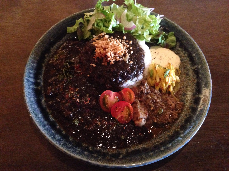 欧風curry bar よそみ(yosomi)のよそみカレー混盛スタイル