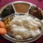 ネパール料理が食べれるGORKHA BAZAR(ゴルカバザール)のダルバート in 谷九
