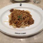インデアンカレー堂島アバンザのインデアンスパゲッティは甘くて辛い【大阪名物カレースパ】