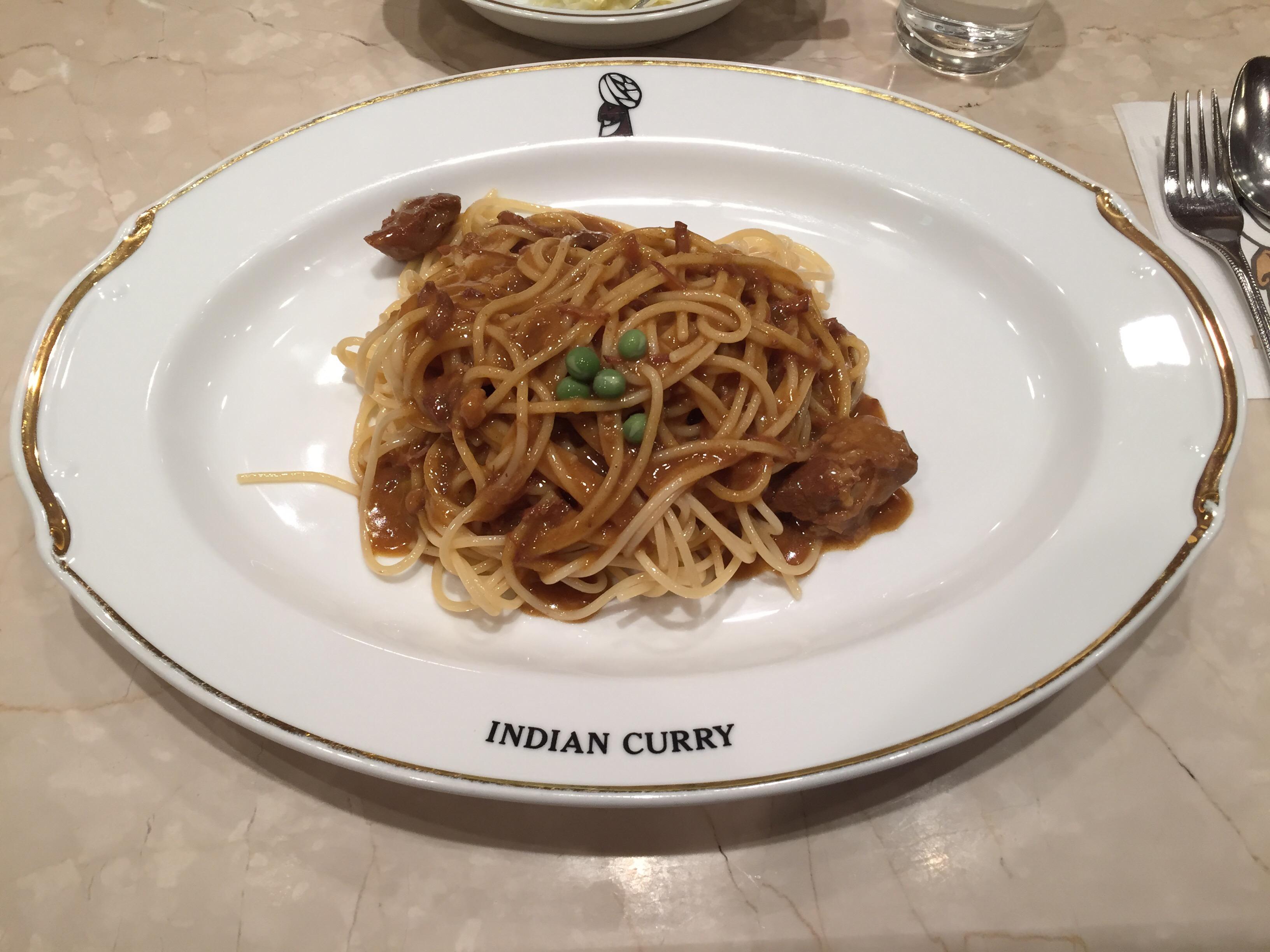 インデアンスパゲッティー