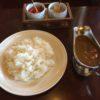 薪ストーブと素敵な老夫婦がいる望雁の喫茶店カレー(高島市マキノ町)